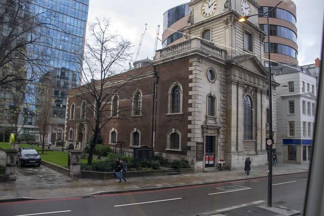 DSC_4755 City of London Bus Route #135 Bishopsgate St Botolph Church