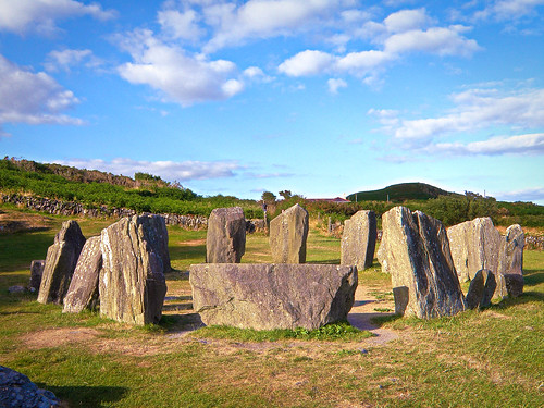 olympus digital irlande ireland couleur color drombeg stone circle