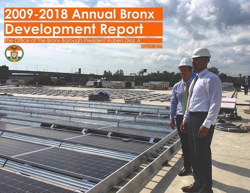 2018 bronx annual development report COVER | by bronxbp