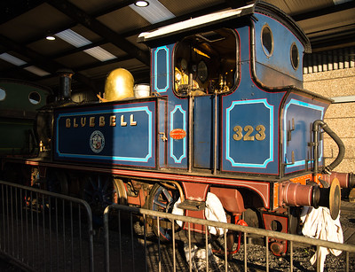 323 Bluebell In The Shed At Sheffield Park Station 2