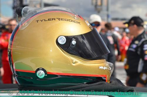 Tyler Reddick helmet