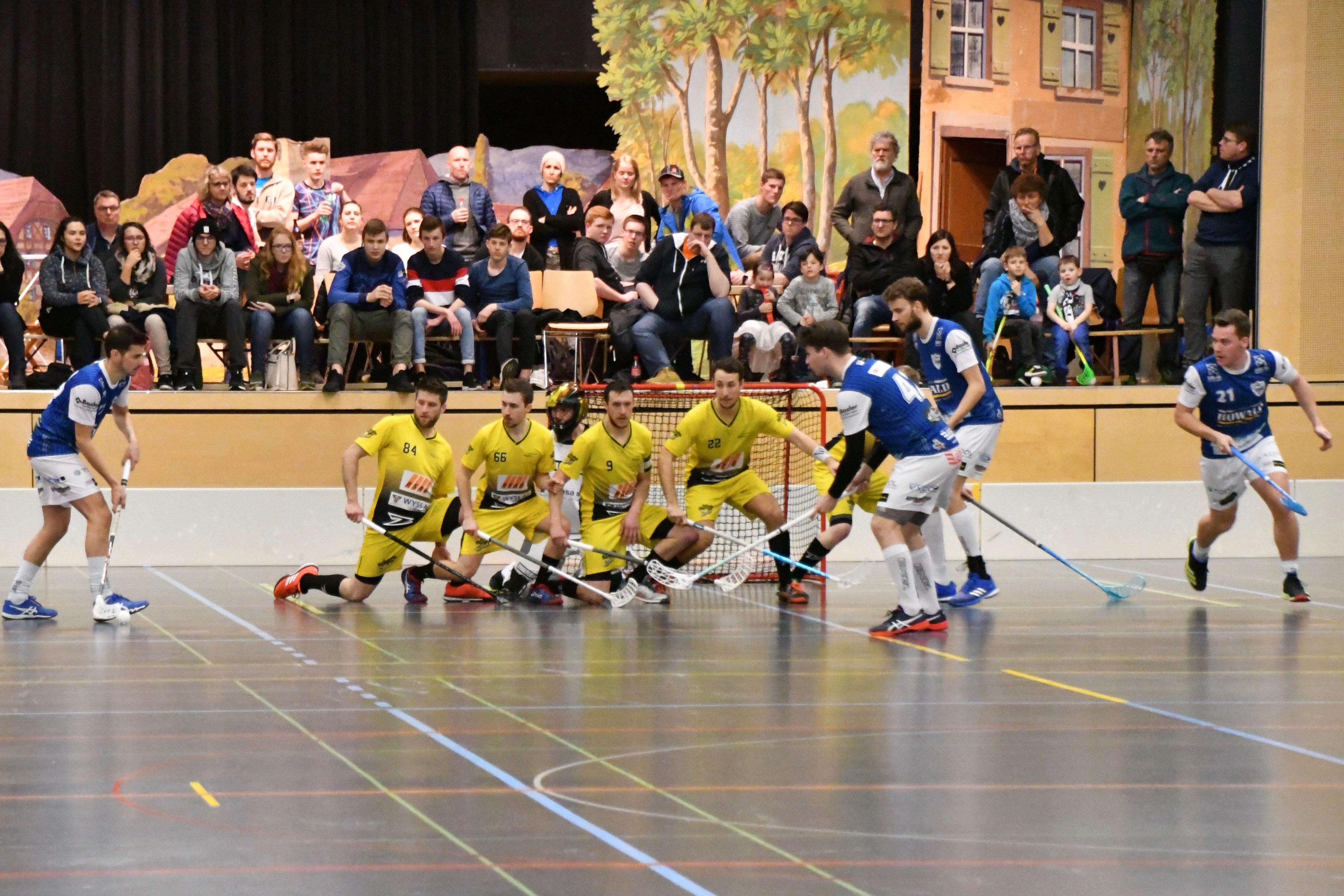 Herren l - TSV Unihockey Deitingen, Saison 2018/19, Playoff 1/2-Final, Spiel 2