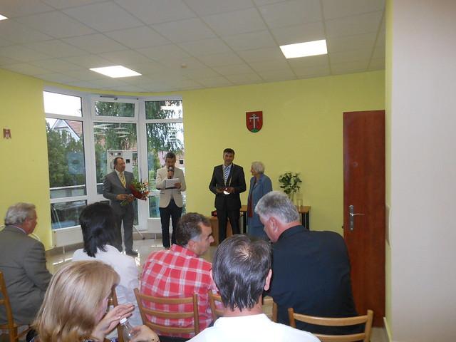 Pani Žofia Gašparovičová - ocenená Cenou starostu obce Budmerice