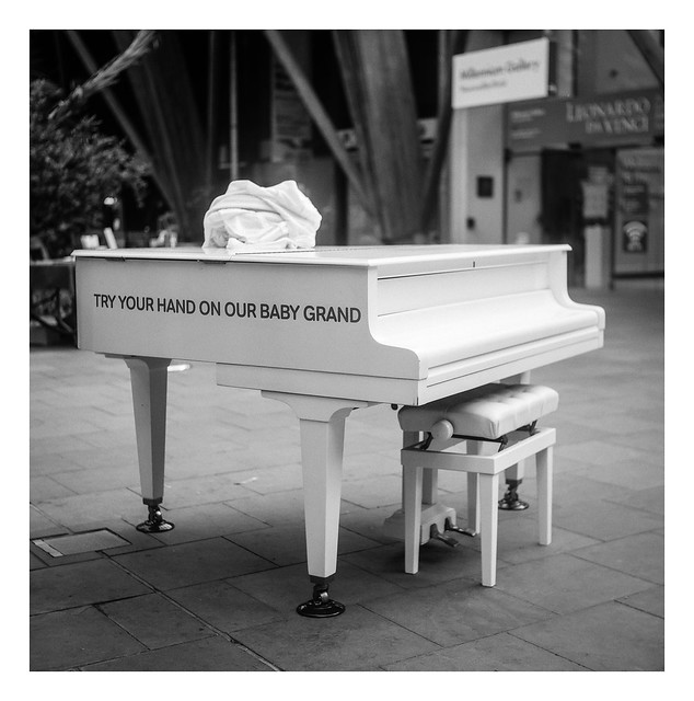 FILM - Try your hand on our baby grand