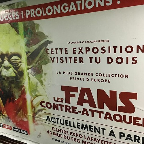 Star Wars expo : les fans contre-attaquent - affiche métro | by Pimpfdm