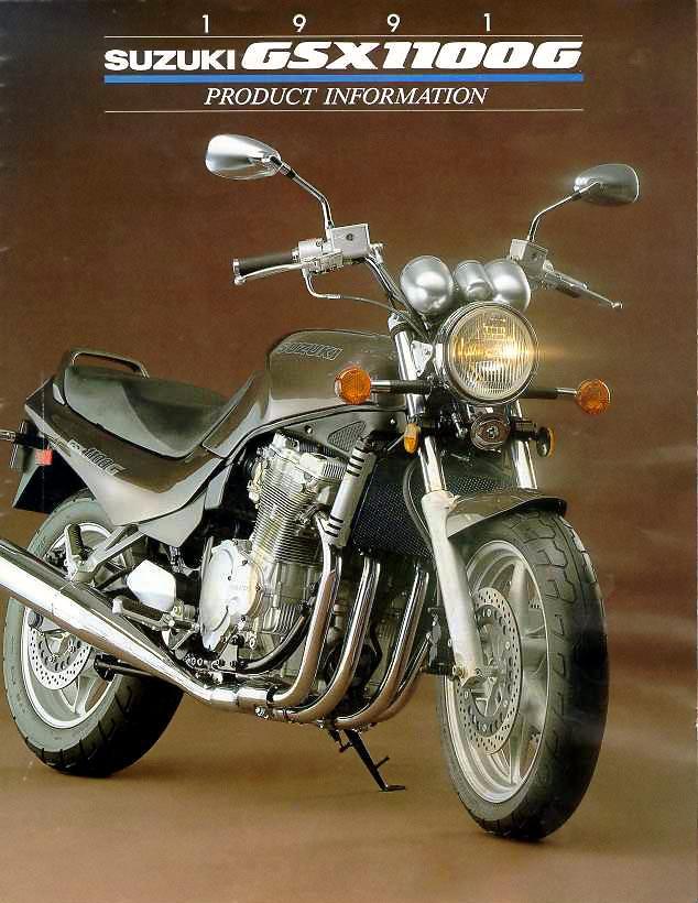 Suzuki GSX 1100 G 1993 - 4