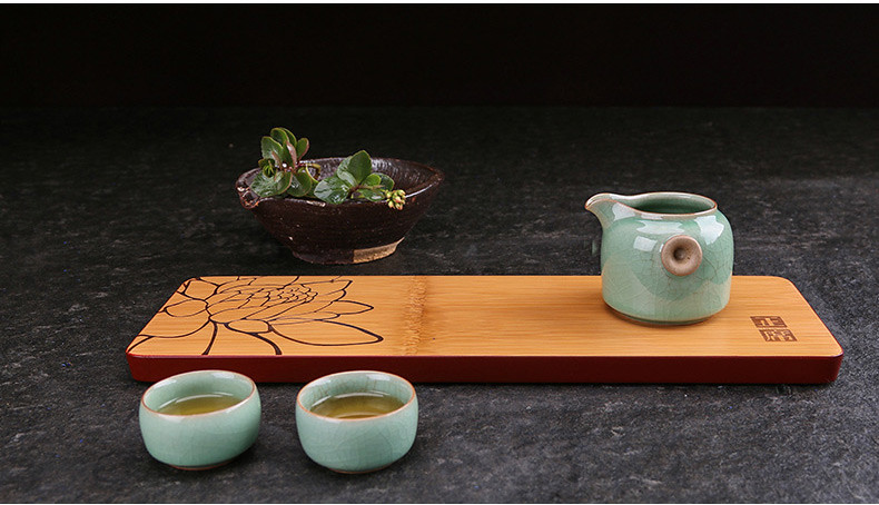 Bamboo Tea Tray 7 Variations