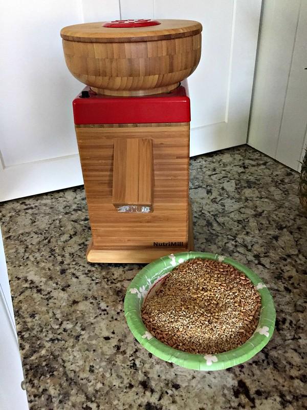 nutrimill grain mill