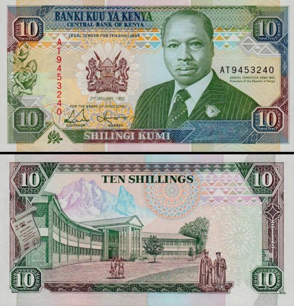10 Šilingov Keňa 1992, P24d