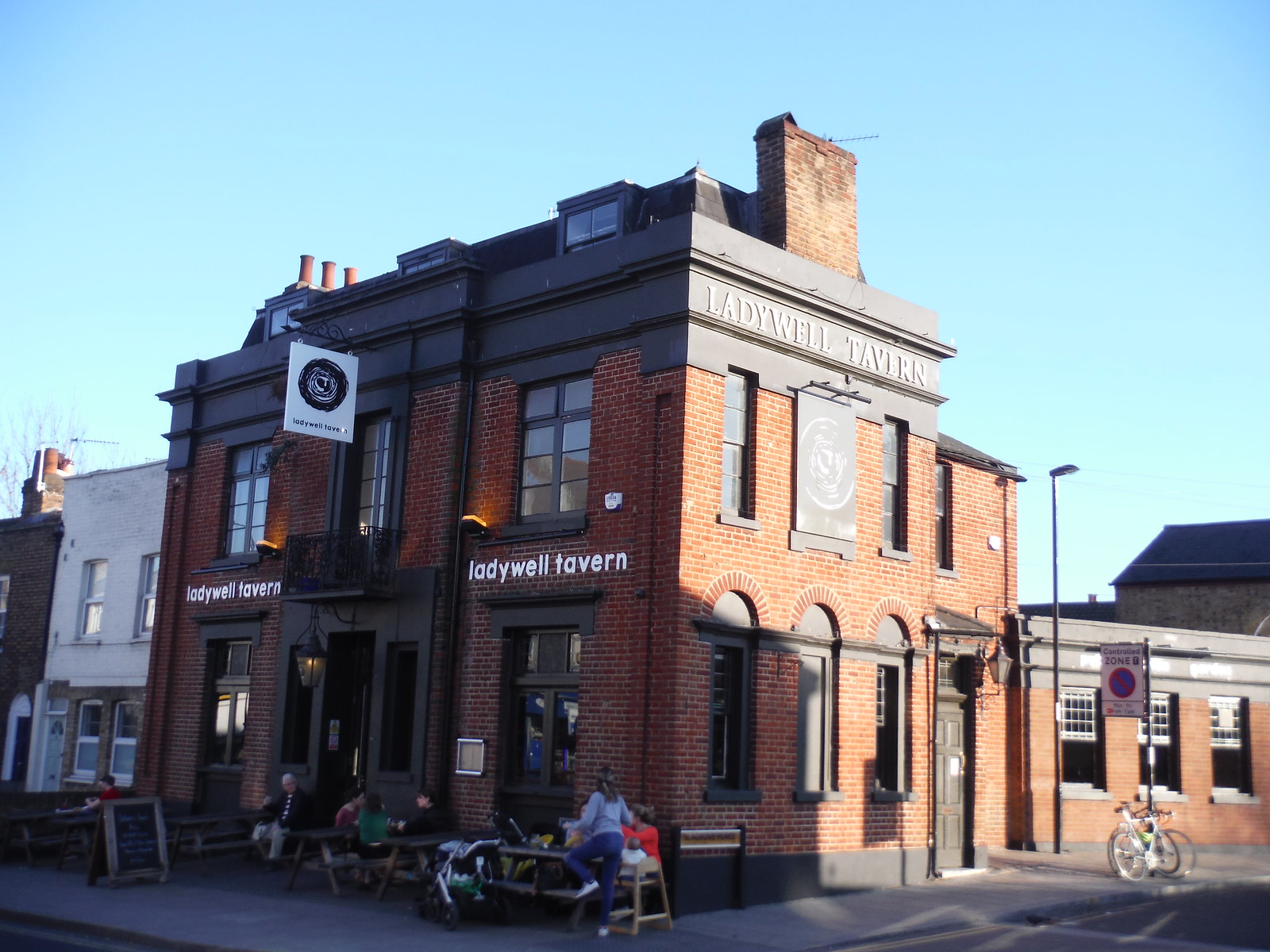 The Ladywell Tavern, Ladywell SWC Short Walk 36 - Waterlink Way (Lower Sydenham to Greenwich)