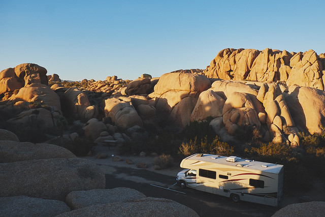 camping within Joshua Tree NP