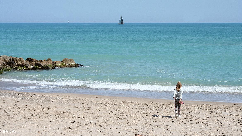 la playa del Saler con niños Valencia