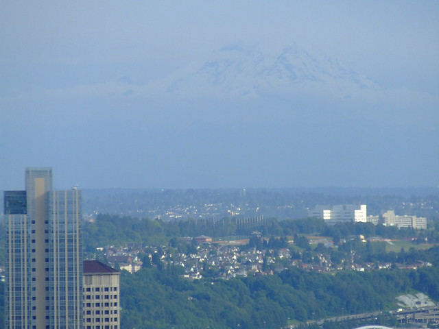 Mt. Rainier in the background.