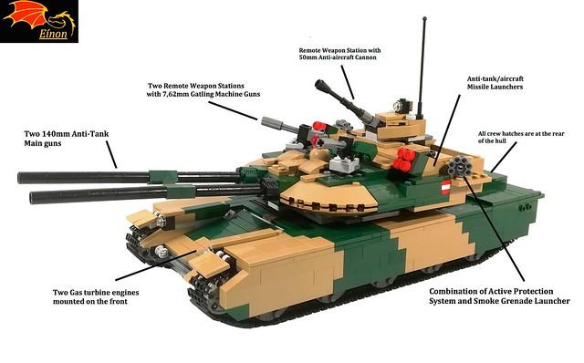 Varcolac Tank in detail