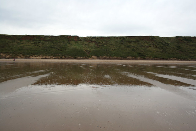 The coast between Marske-by-the-Sea and Saltburn-by-theSea