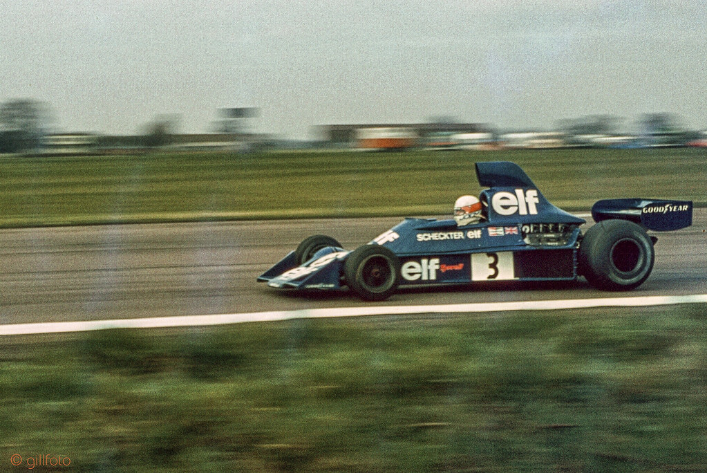 Jody Scheckter driving Tyrrell 007 Ford Cosworth DFV V8 | Flickr