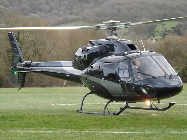 G-OALI Aerospatiale Ecureuil AS355F1 Helicopter (Atlas Helicopters Ltd)