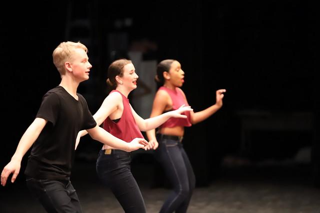 Rehearsal for Ann Arbor Dance Classics 2019 Benefit Show (Saline High School, Michigan)