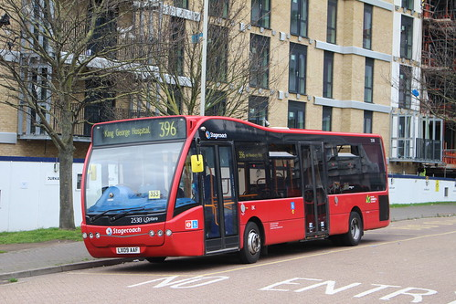 Stagecoach London 25113 on Route 396, Ilford
