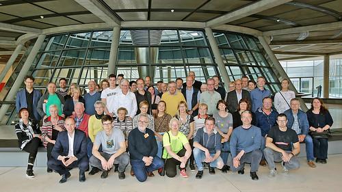 Im Bundestag habe ich eine Besuchergruppe aus dem Wahlkreis begrüßt. Foto: Bundesregierung / Atelier Schneider   by DennisRohdeMdB