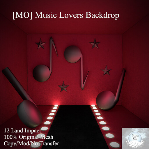 [MO] Music Lovers Backdrop