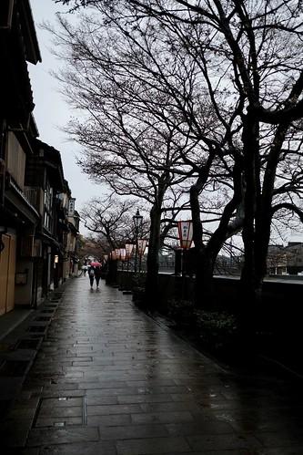 金沢は今日も雨だった