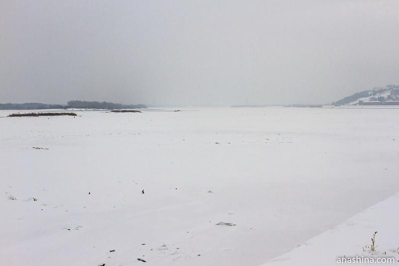 Вид со Стрелки на Волгу, Нижний Новгород