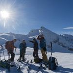 Inoffizielle Ersatz-Skitour Pfannenstöckli 02.02.2019