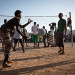 IOM Djibouti - MRC center in Obock, time to play