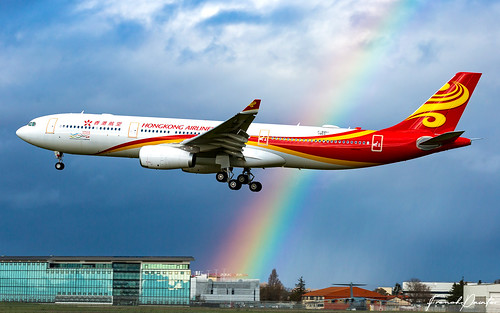 Airbus A330 Hong Kong Airlines B-LHF | by French_Painter