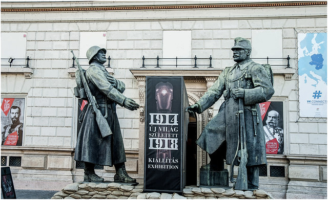 3205-MONUMENTO A LOS SOLDADOS DE LA GUERRA DEL 1914-18 - BUDAPEST