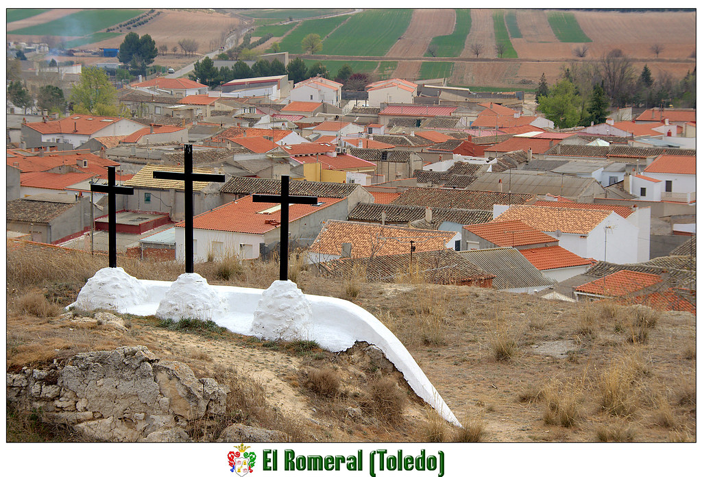 Término de un Vía Crucis en El Romeral,