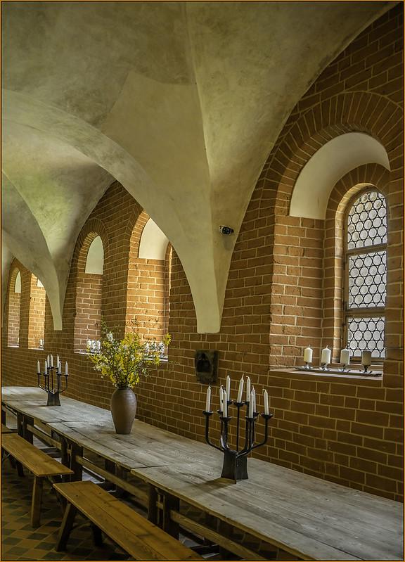 Speisesaal im Kloster Altzella