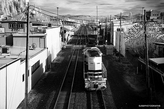 Down the tracks - infrared