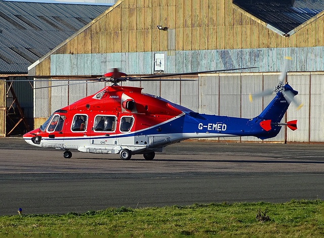 G-EMED Airbus H175 of CHC Helicopters