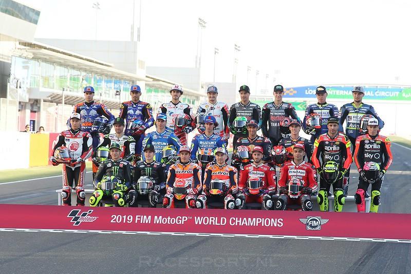 MotoGP startgrid 2019