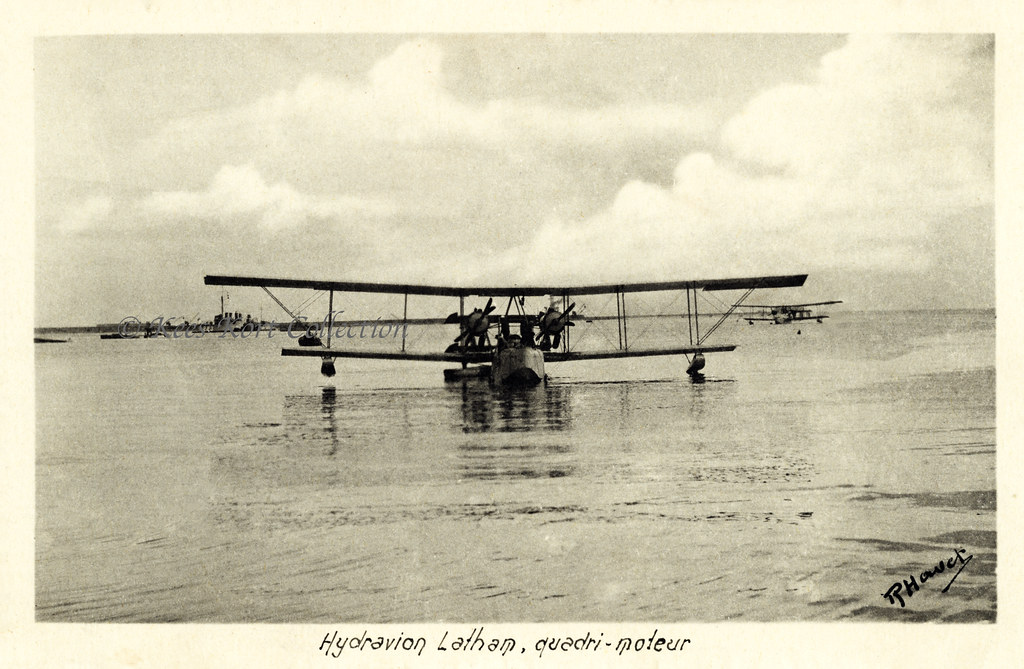 The Latham 1000 Hp Four Engined Flying Boat Seen Here In T Flickr