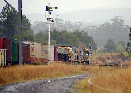 trainsdieselnrsrailsignaltrainssignalnrs glenreagh nsw