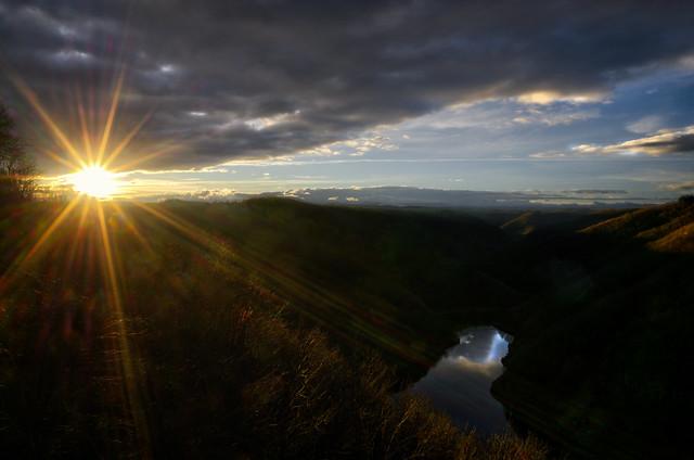 gorges de la Dordogne, un jpur s'en và