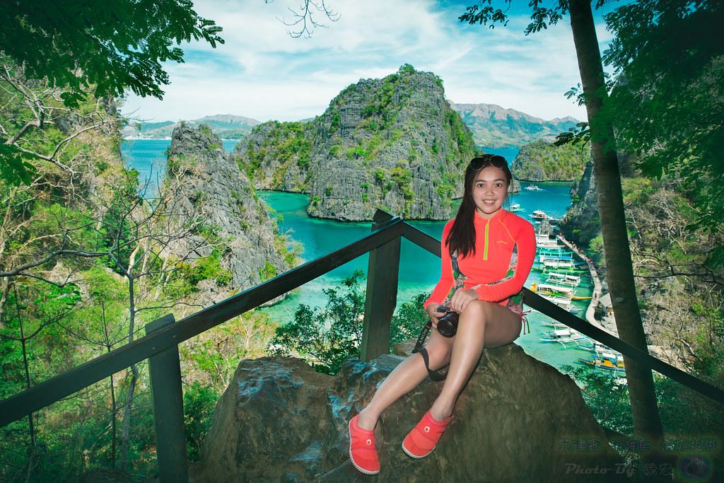 菲律賓 科隆島 凱央根湖