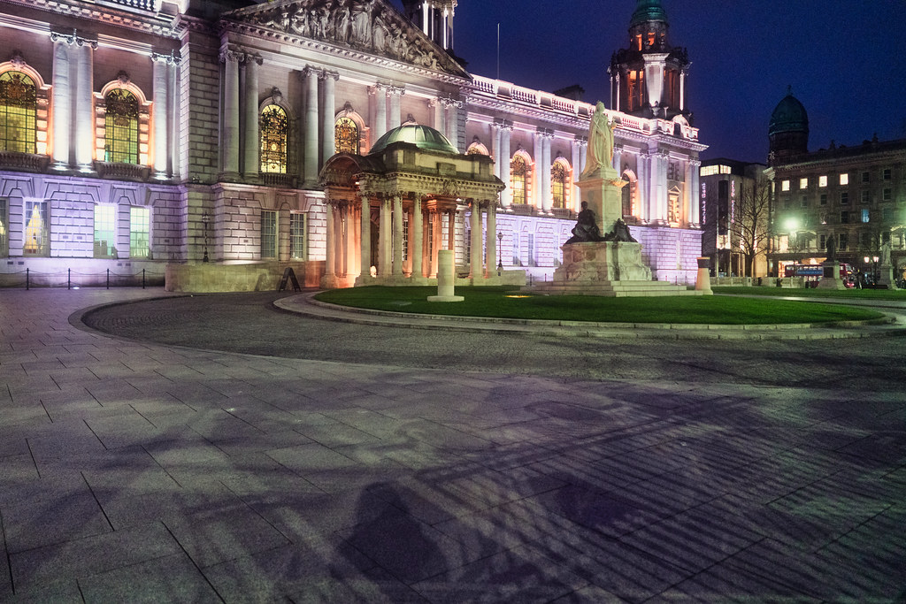 BELFAST CITY HALL AT NIGHT 009