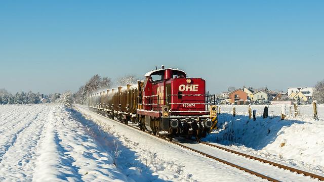 OHE 160074, DGS Braunschweig Watenbüttel - Staßfurt, Watenbüttel
