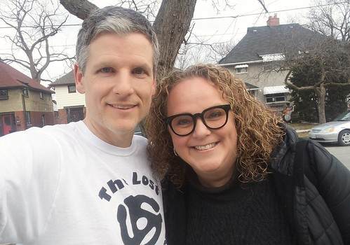 Heather Bambrick and me | by Mike Boon