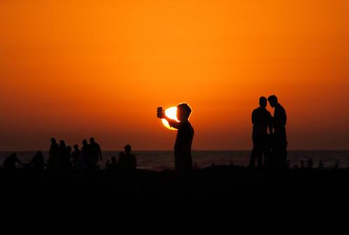sunset dusk silhouette debmalyamukherjee canon550d 18135 mumbai hajiali