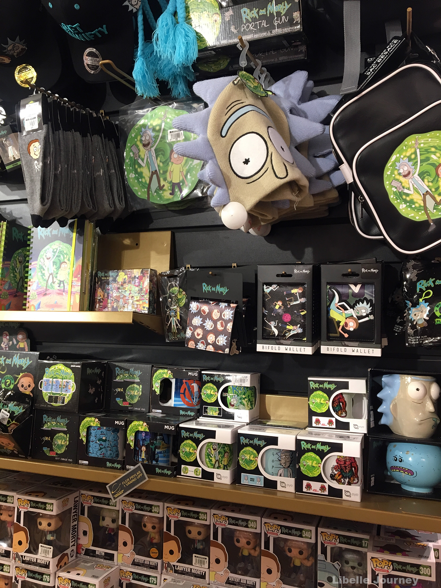 Rick and Morty shop