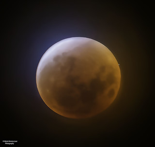 Lunar Meteorite Impact During The Eclipse of 01/20/2019 | by Maria Gemma - A Passionate Photographer