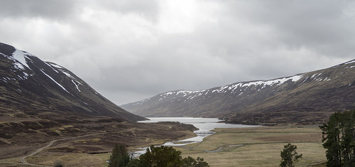 Northern end of Loch Garry, Dalnaspidal, Cairngorms National Park, Perth and Kinross, Scotland, UK
