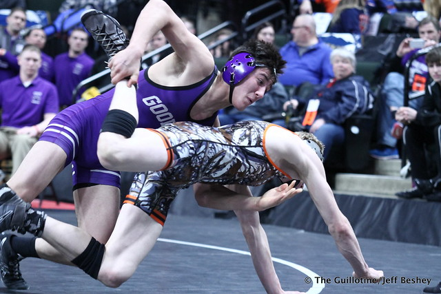 145 – Travis Gadient (Goodhue) over Devin Dean (BHVPP) Dec 3-1. 190228CJF0147