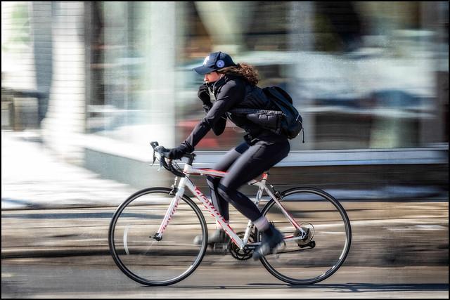 Bank Street Sunday Rider