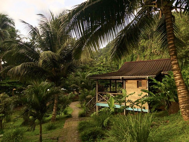 Cabaña en Praia Inhame (Santo Tomé y Príncipe)